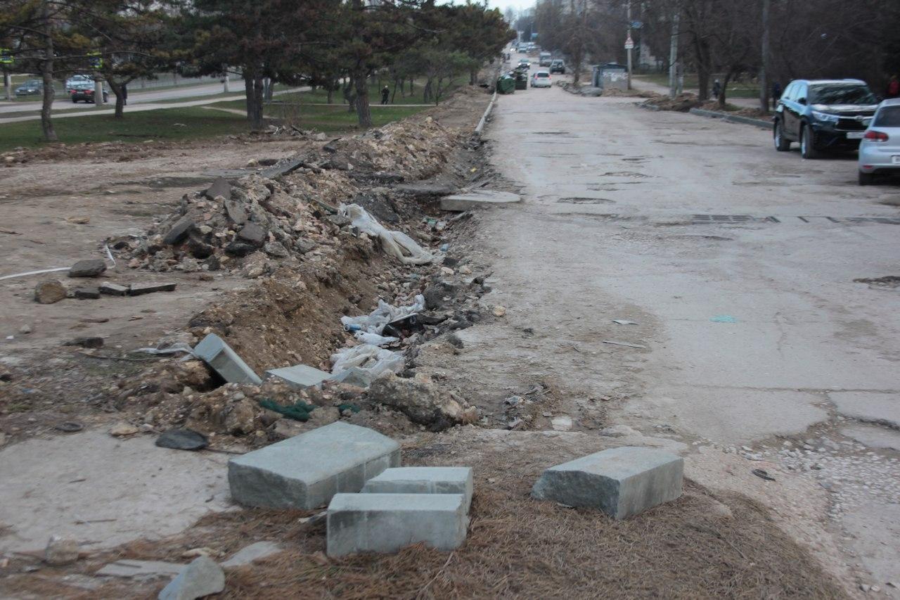 Ремонт дороги-дублера проспекта Генерала Острякова близится к завершению