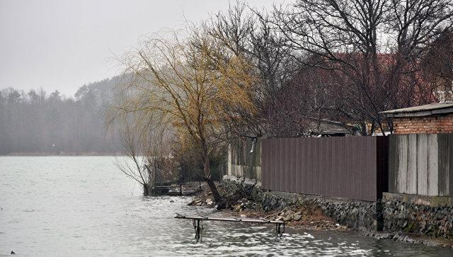В Ялте река вышла из берегов и подтопила  дома