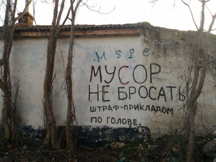 В лесах Севастополя стало меньше мусора