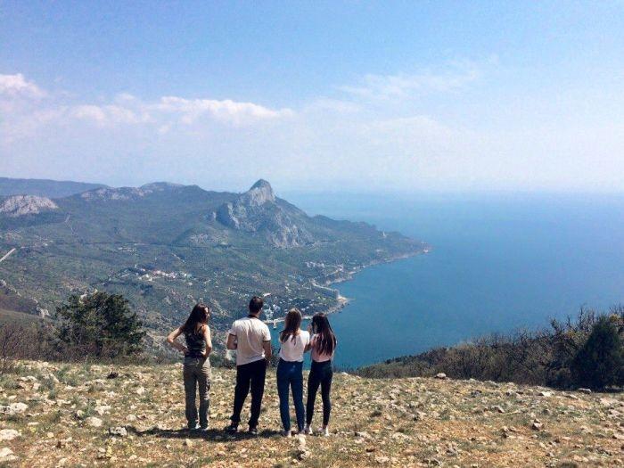 Блог путешественника по Крыму: восхождение на «птичью гору» Куш-Кая