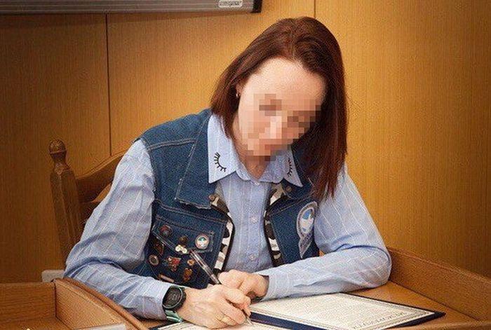 В Херсоне арестовали задержанного «волонтера Победы» Елену Одновол