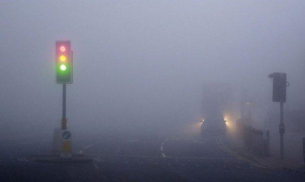 Туман приостановил работу Керченской паромной переправы