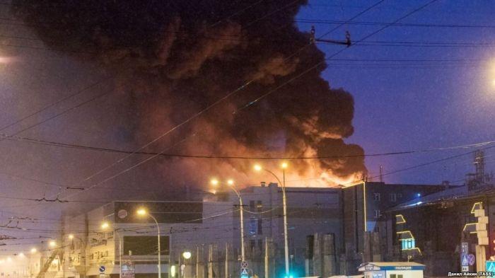 Следком назвал точное количество погибших при пожаре в «Зимней вишне»