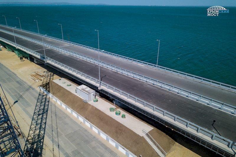 Строители Крымского моста приступили к монтажу локальных очистных сооружений