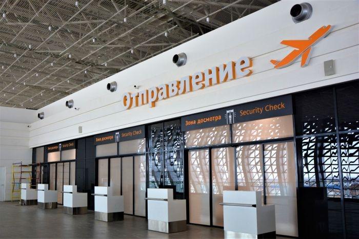 Новый терминал аэропорта «Симферополь» обслужил уже 100 000 пассажиров
