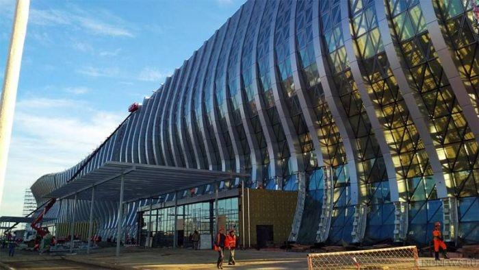 Как добраться до нового терминала аэропорта «Симферополь»