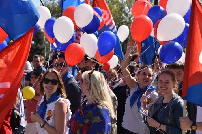 Как в Севастополе отметили Первомай