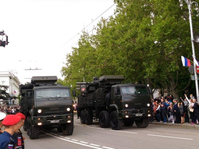 Севастополь отметил 9 мая грандиозным Парадом Победы