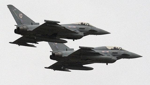 Британия направит истребители к Черному морю, чтобы «бороться с агрессией»