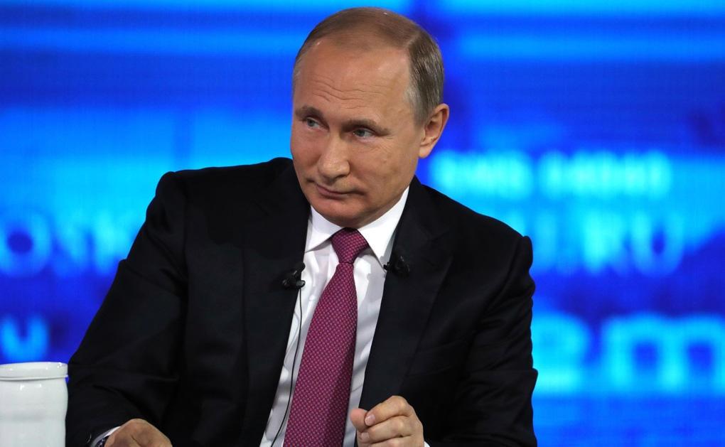 Стало известно, когда пройдет «Прямая линия с Владимиром Путиным»