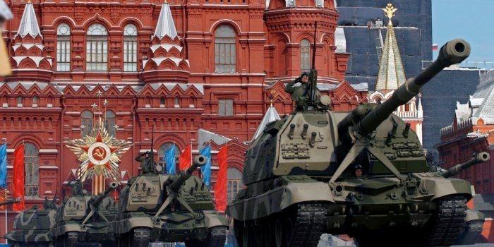 Путин на Параде в Москве: «Мы никогда не позволим переписать историю»