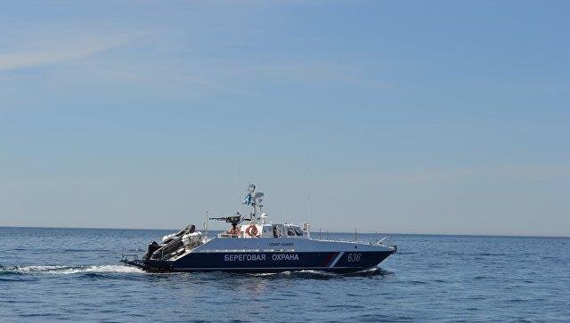 У берегов Крыма задержано украинское судно