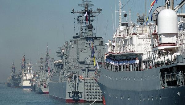 Поздравления Александра Витко и Дмитрия Овсянникова с 235-летием Черноморского флота