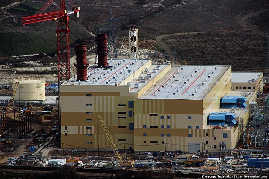 В Севастополе заработала Балаклавская ТЭС