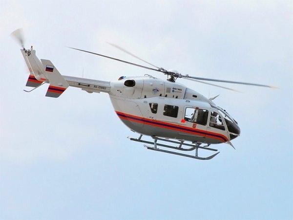 Двух пострадавших на пожаре в Евпатории доставили вертолетом в ожоговый центр Симферополя