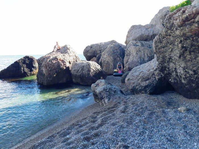 Блог путешественника по Крыму: лазурный берег Батилимана