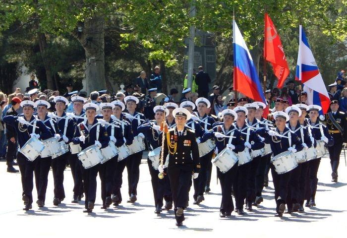 Программа парадов военных оркестров России в Крыму и Севастополе