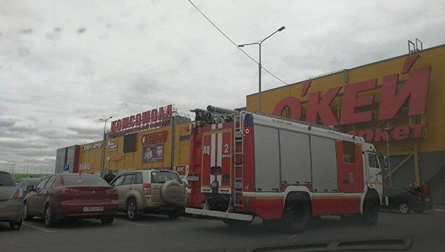 Пожар в ТЦ в Иркутске: восемь детей получили ожоги