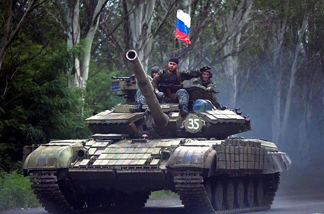 В Киеве заявили, что в России «голодные солдаты» распилят танки ради еды