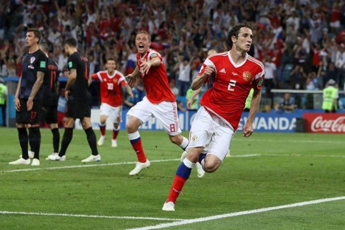 Сборная России проиграла Хорватии и покидает ЧМ-2018