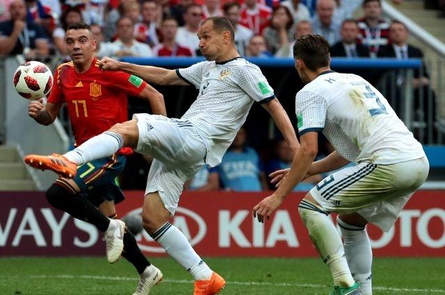 Россия победила Испанию и впервые вышла в четвертьфинал Чемпионата мира по футболу