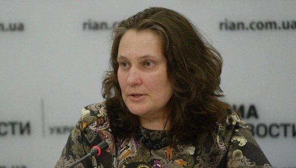 Украинская правозащитница удивлена тем, как в Крыму болеют за сборную России