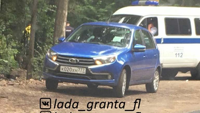 Обновлённый хэтчбек Lada Kalina-Granta рассекретили до премьеры