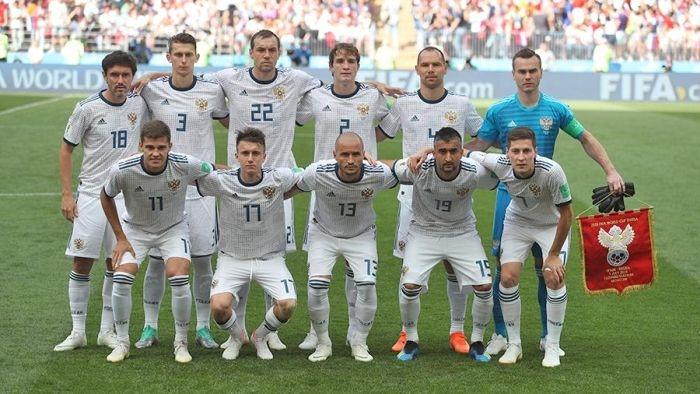 Стала известна сумма, заработанная сборной России с начала ЧМ-2018