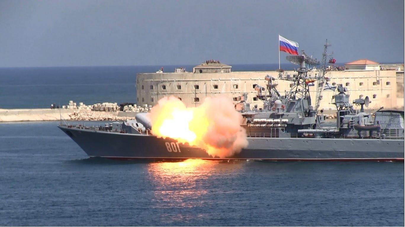 Артиллерийский бой, поиск подлодок, высадка десанта: что увидят зрители во время празднования Дня ВМФ