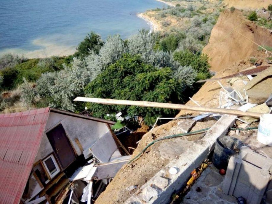 В зоне риска! Из-за оползня на Северной стороне могут обрушиться еще 33 земельных участка