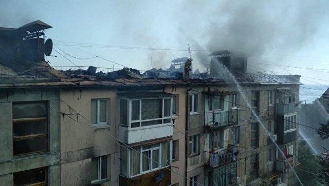 В Кореизе сгорела многоэтажка — людям предоставили временное жильё
