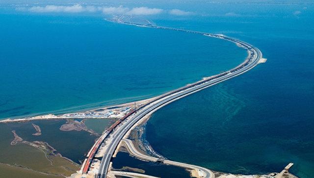 Матвиенко назвала Крымский мост потрясающим сооружением