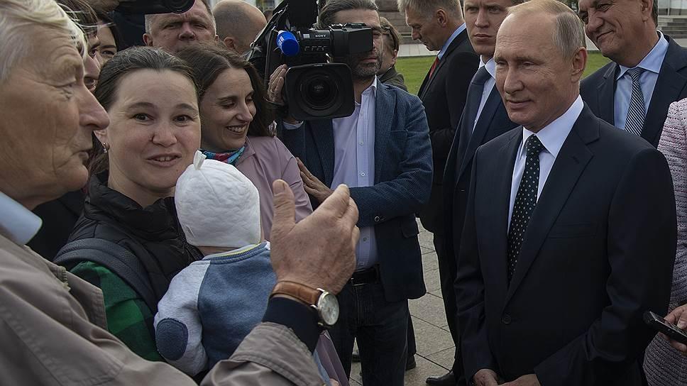 Путин сегодня выступит с заявлением о пенсионной реформе