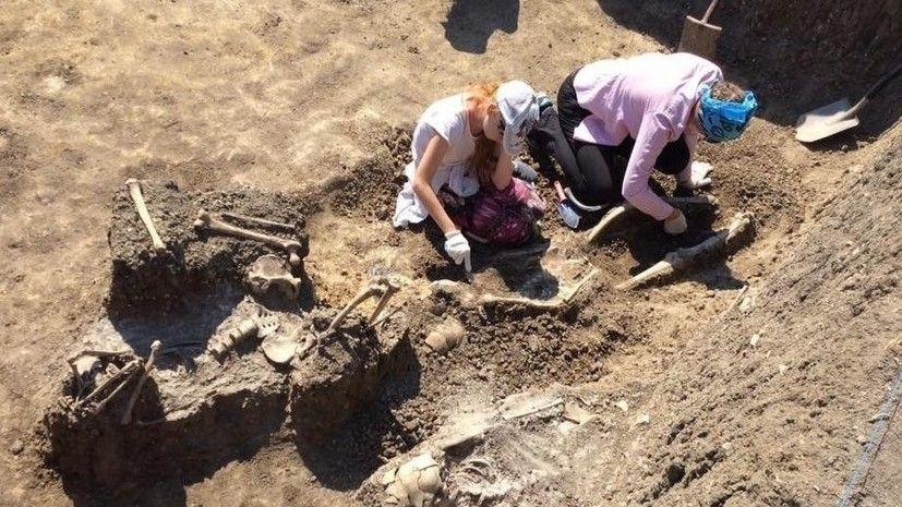 Крымские археологи нашли уникальное массовое захоронение времён Хазарского каганата