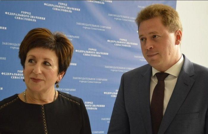 Председатель Заксобрания Севастополя Алтабаева нарушила закон России — Овсянников