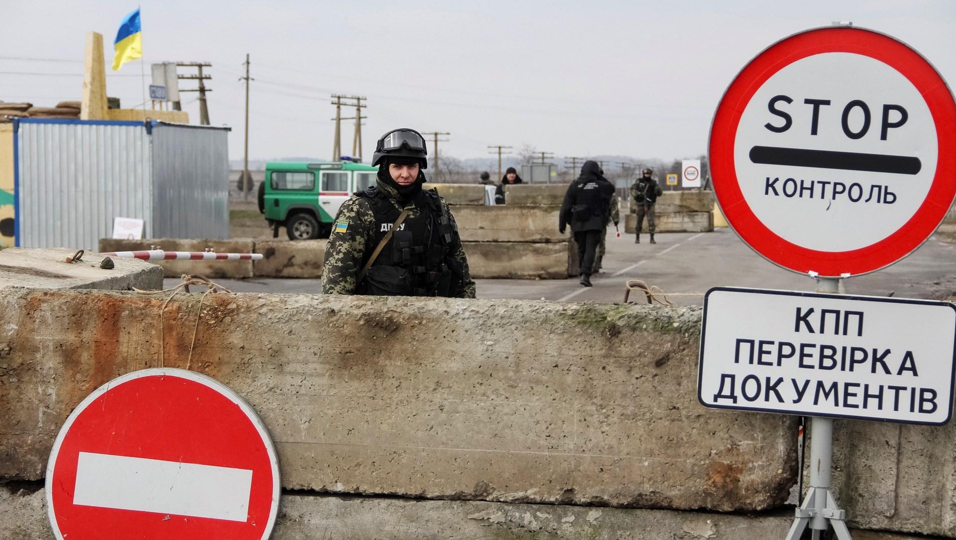 На Украине рассказали, зачем закрывали пункт пропуска на границе с Крымом