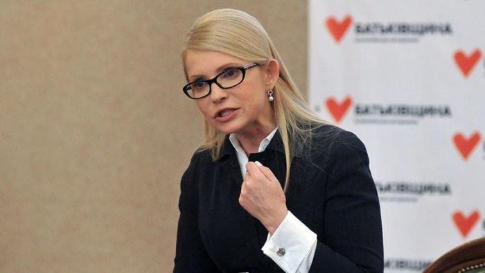 Тимошенко заявила о неизбежности падения гривны