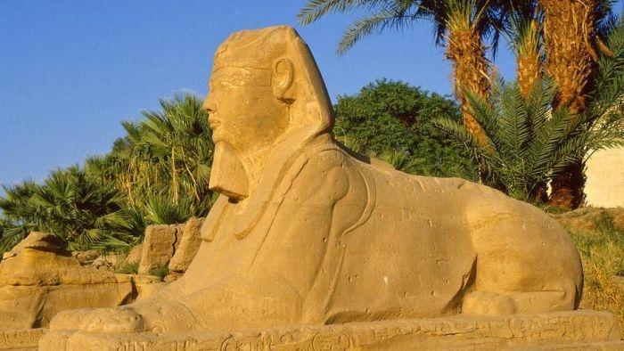 В Египте обнаружили новую статую Сфинкса