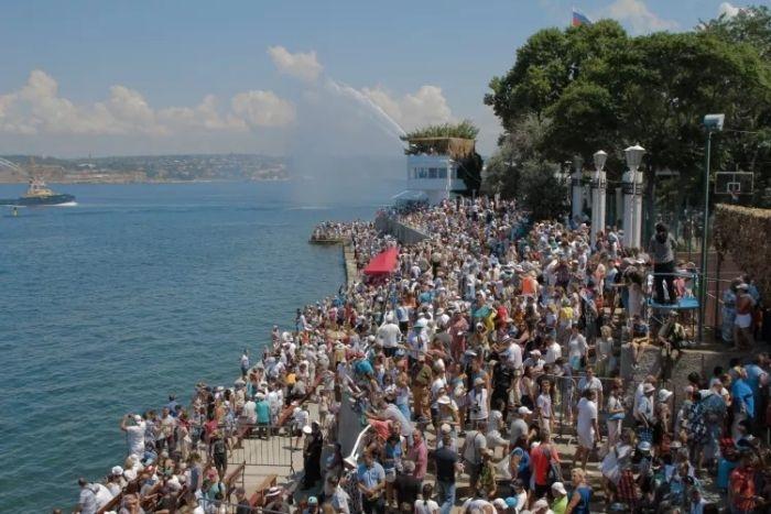 В Севастополе значительно увеличился поток туристов