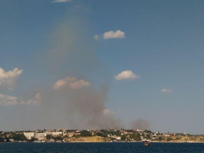 В Севастополе 16 раз за сутки тушили траву