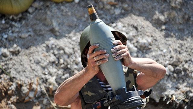 На Украине трое бойцов ВСУ пострадали из-за разрыва миномета