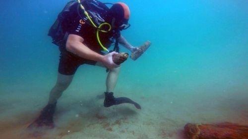 В акватории Казачьей бухты обнаружили снаряды времен Великой Отечественной