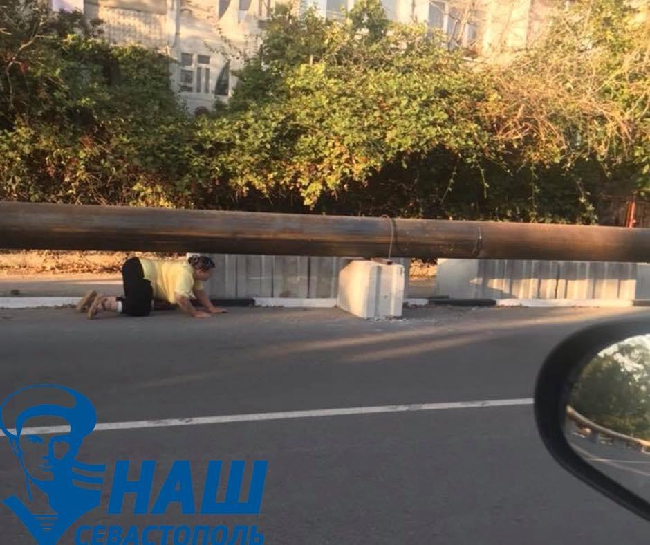 Севастопольские общественники обратили внимание властей на опасный участок для пешеходов