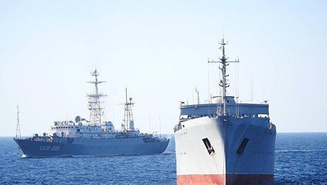 Украина обвинила Россию в «опасных инцидентах» в Керченском проливе