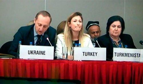 Крымским журналистам отключили микрофон на заседании ОБСЕ по вопросам свободы СМИ