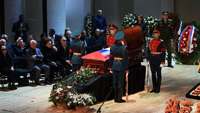 В Москве началось прощание с Иосифом Кобзоном