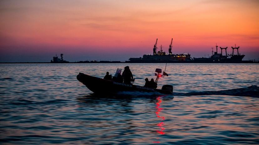 Украина создает базу ВМС на Азовском море