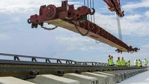 Объявлен тендер на электрификацию железнодорожной части Крымского моста