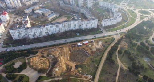 Контракт с подрядчиком реконструкции Парка Победы до сих пор не расторгнут