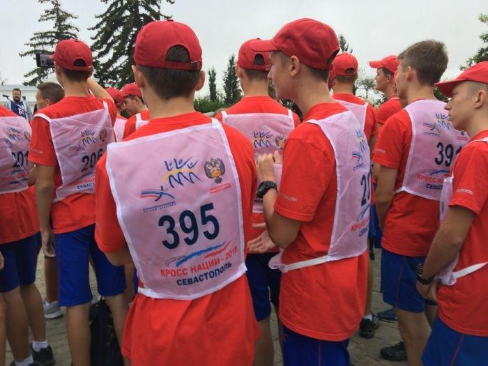 В Севастополе «Кросс нации» бегут  более 600 человек